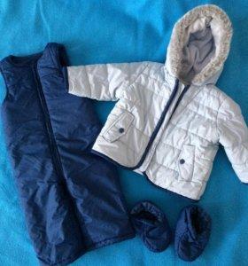 Куртка детская и полукомбинезон Mothercare