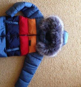 Куртка зимняя 110-116