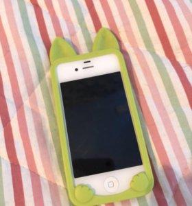 Чехол iPhone айфон 4S