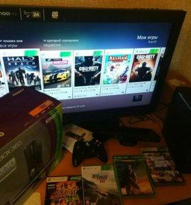 Xbox 360 250GB + KINECT + HDMI