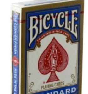 Игральные карты Bicycle Standart (синие)