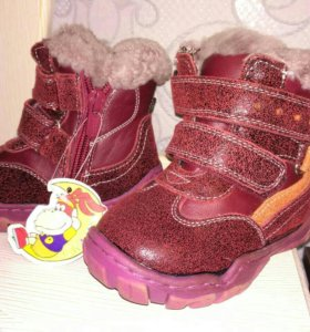 Ботинки зима новые 21 размер