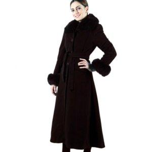 Французское кашемировое пальто, motys новое