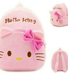 Новый рюкзак для малышей hello kitty