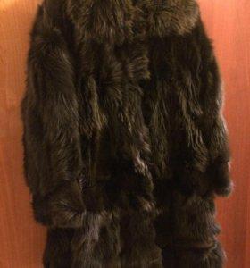 Шуба из лисы Furs