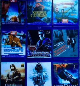 Blu ray 50 шт