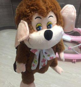 Рюкзак новый детский обезьянка