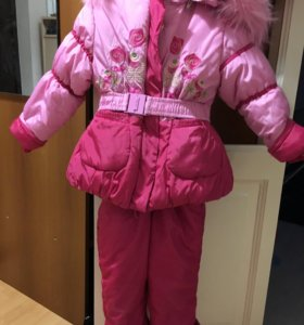 Зимний костюм на девочку размер 110-116