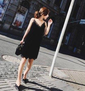Новое платье ,бархат ,размер s