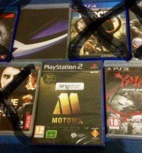 Playstation (2,3,4) игры.