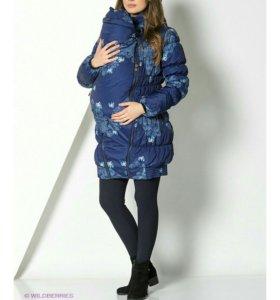 Куртка для беременных, слингокуртка
