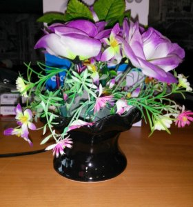 Светильник цветы новый