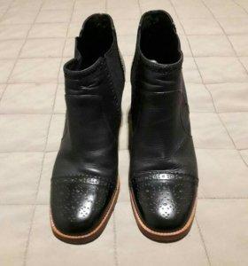 Ботильоны, ботинки, нат. кожа CARLO POZALINI б/у
