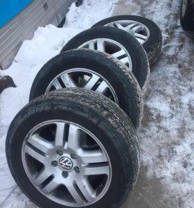 Литые колесные диски R18  без резины 4 шт