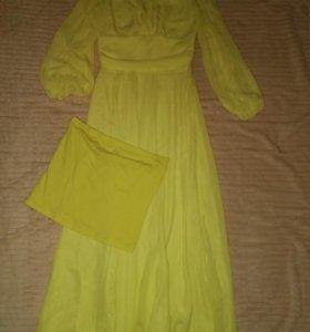 Новое платье+юбочка