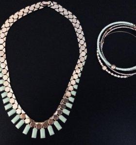 Ожерелье и браслеты