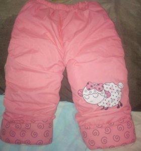 Куртка и  Штанишки детские дутики