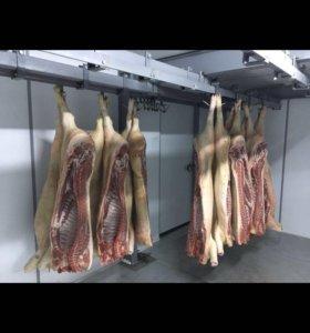 Подвесной путь для камер хранения мяса