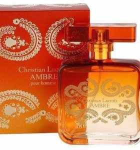 Christian Lacroix Ambre for Men