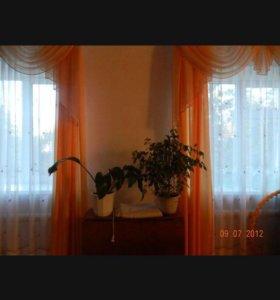Комплект штора с ламбрикеном