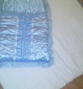 Конверт для новорожденных с ватным одеялком