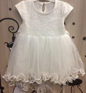 Нежнейшее платье для малышки.