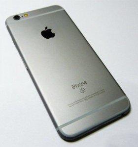 Телефон айфон 6s 16 гб. Серый.