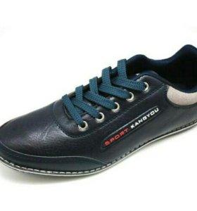 Новые мужские кроссовки, размер 40