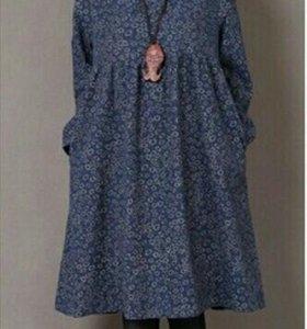 Платье  для беременных, теплое. Новое с биркой