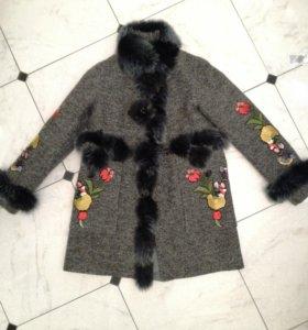Новое пальто зимнее