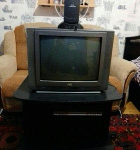Телевизор, Подставка, антенна.