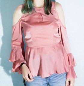 Атласный топ/блуза Asos