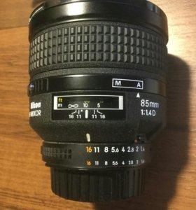 Nikon 85 f 1.4 d