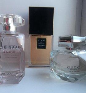 Elie Saab, Chanel, Gucci eau de Toilette
