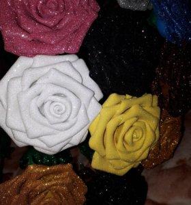 Розы ручная робота