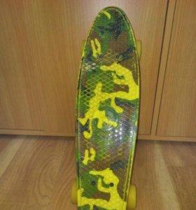 Пенни борд Fish Skate
