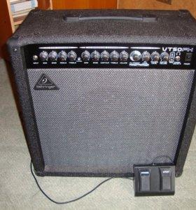 Гитарный комбо усилитель Behringer VT50FX