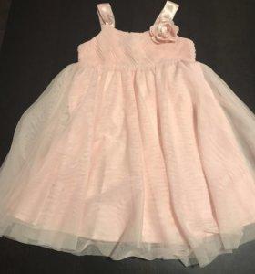 Нарядное платье для девочки 110 р