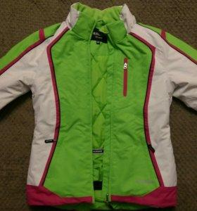 Лыжный костюм для девочки, рост 128-134