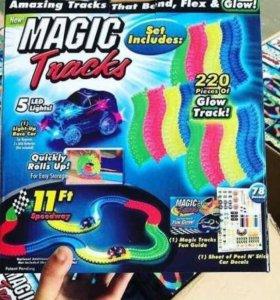 Детский трек magick track 220 деталей