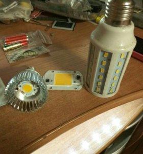 Светодиодные прожекторы и лампы утилизирую