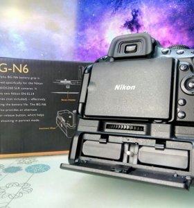 Батарейный блок (ручка) для Nikon D5100/D5200