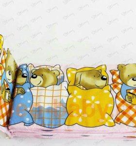 Бортики накроватку и балдахин