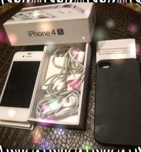 iPhone 4s 16gb белый