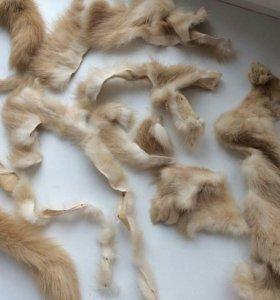 Обрезки меха норки
