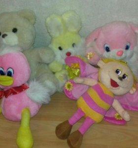 Мягкие игрушки (Пушкин)