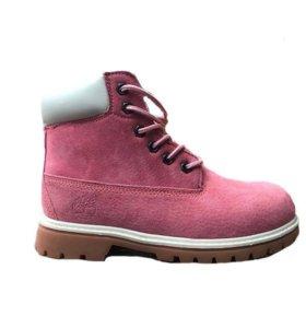 Ботинки Timberland 6 Inch Boots Pink (36-40)