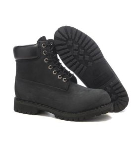 Timberland 6 Inch Boots Black (36-40)