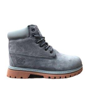 Ботинки Timberland 6 Inch Boots Grey (36-40)