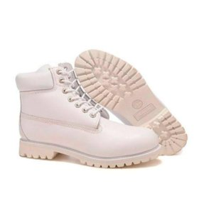 Timberland 6 Inch Boots White (36-40)